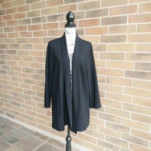 Eileen Fisher Women Wool Open Cardigan